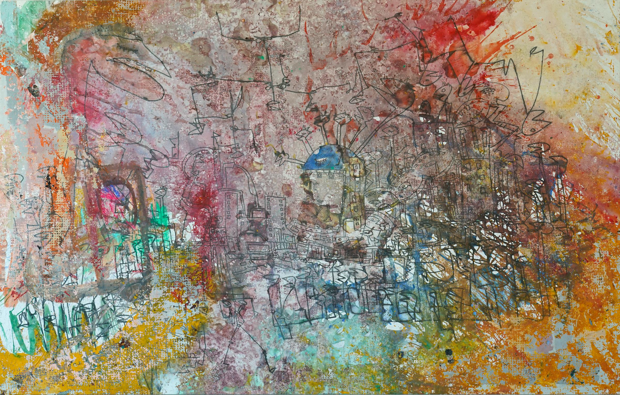 Dino abstrakt V1
