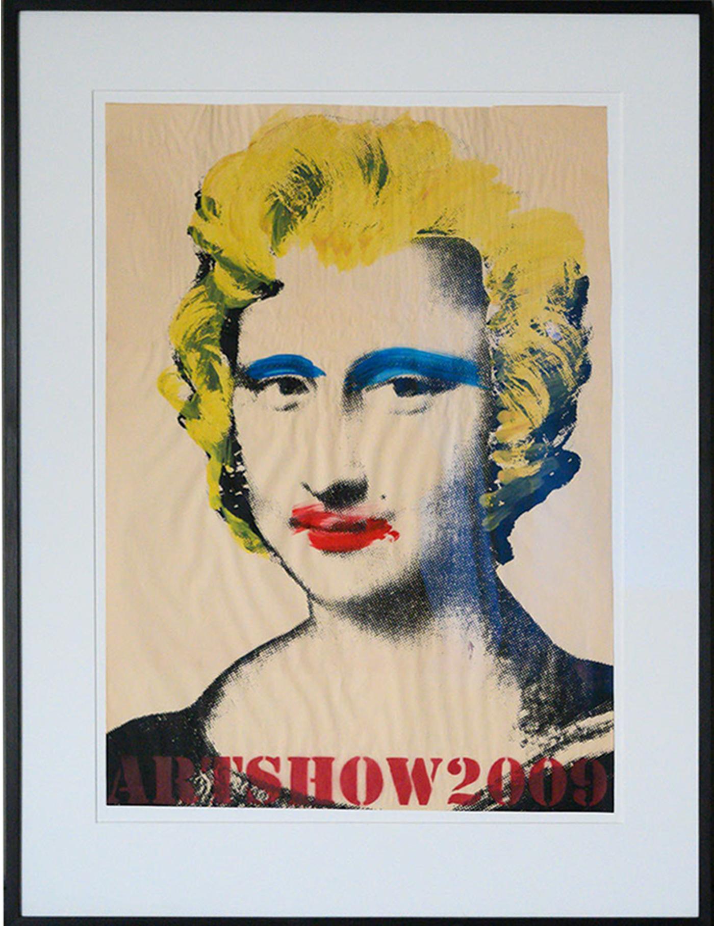 Mona Lisa (Rote Lippen, Gelbe Haare)